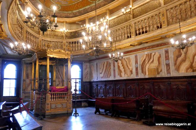 Die Große Deutsche Synagoge in Venedig