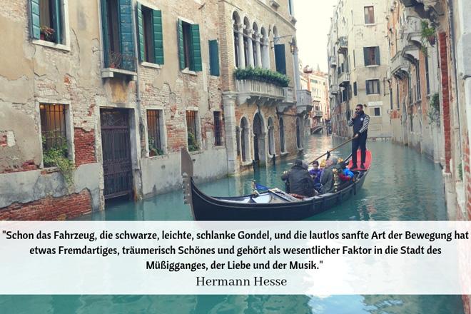 Hermann Hesse Zitate Venedig