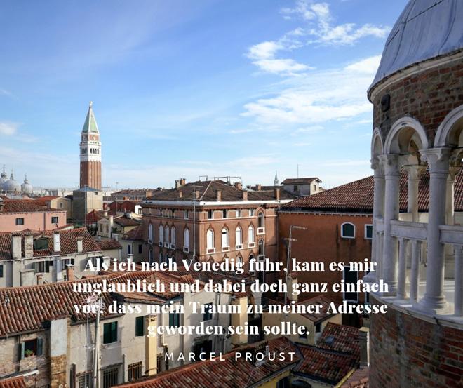 Marcel Proust über Venedig