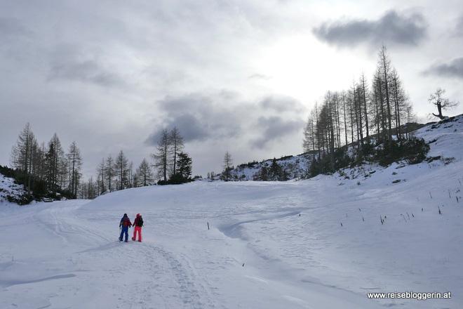 Nassfeld Schneeschuhwandern