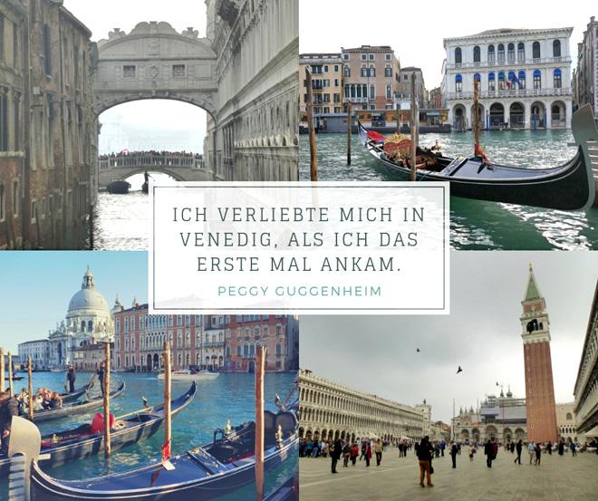 """""""Ich verliebte mich in Venedig, als ich das erste Mal ankam."""" Peggy Guggenheim"""
