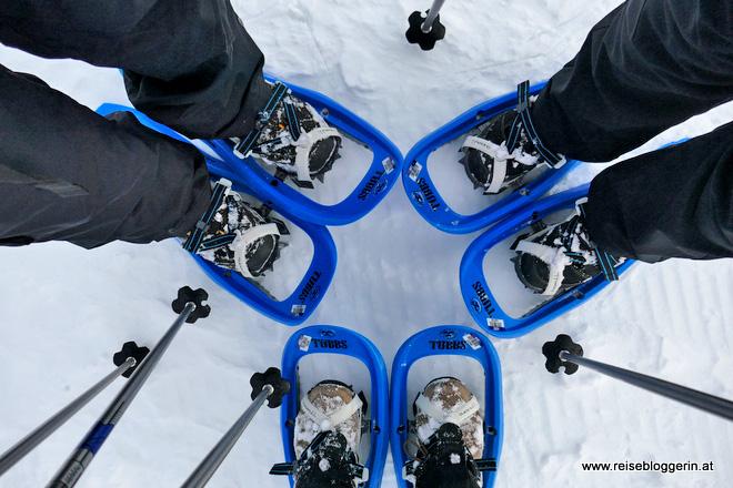 Schneeschuhwandern Nassfeld