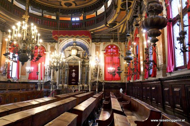 Die Spanische Synagoge in Venedig