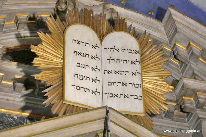 In der Spanischen Synagoge in Venedig