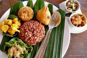 Essen auf Bali - Nasi Campur