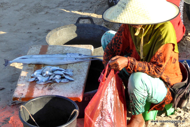 Der Fischmarkt in Jimbaran