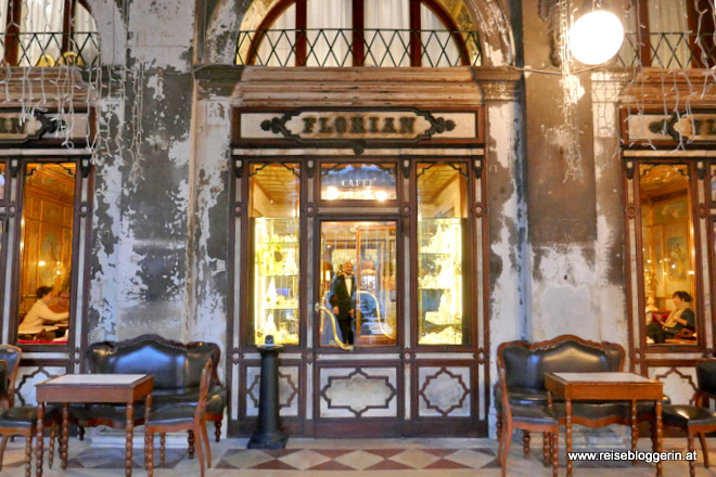 Das Cafe Florian in Venedig
