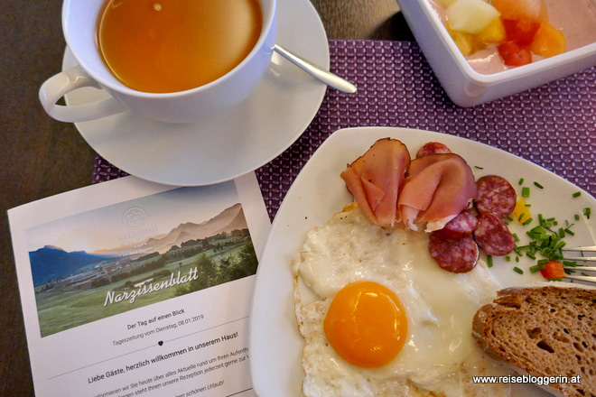 Frühstück im Narzissenrestaurant