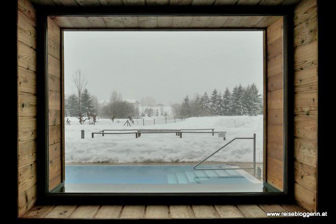 Die Sauna im Narzissenbad