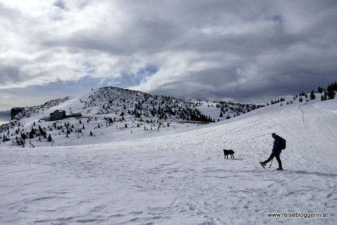 Rax Schneeschuhwandern