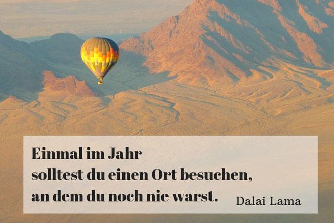 Dalai Lama Reisen