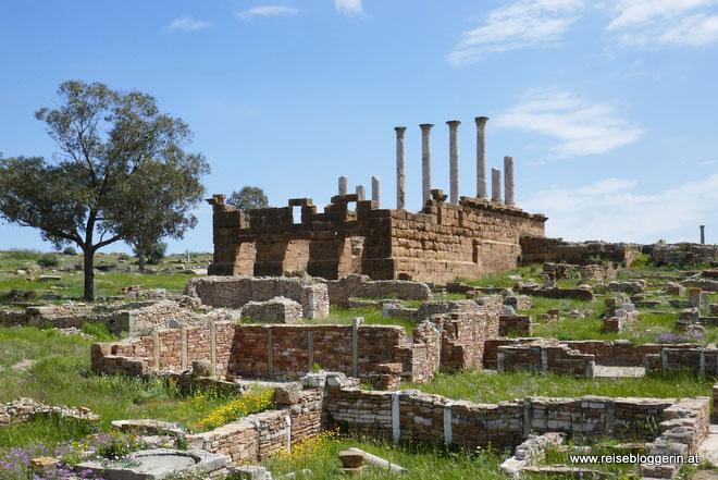 Das Kapitol in Thuburbo Maius