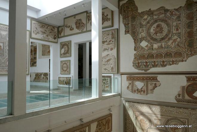 Mosaike im Bardo Museum in Tunis