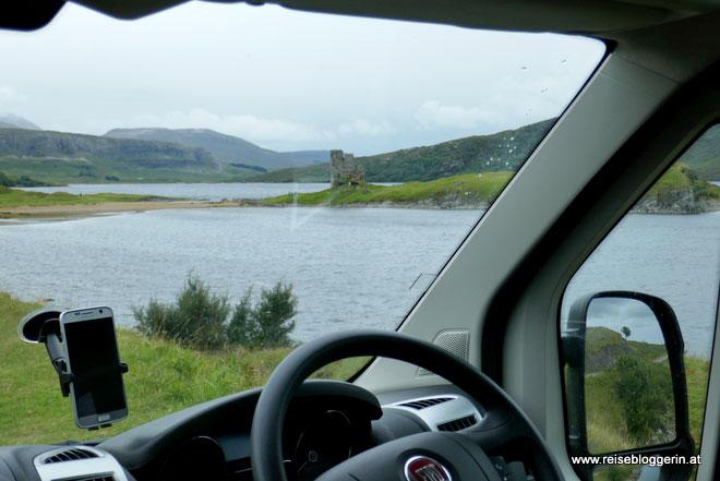 Durch Schottland mit dem Campingbus