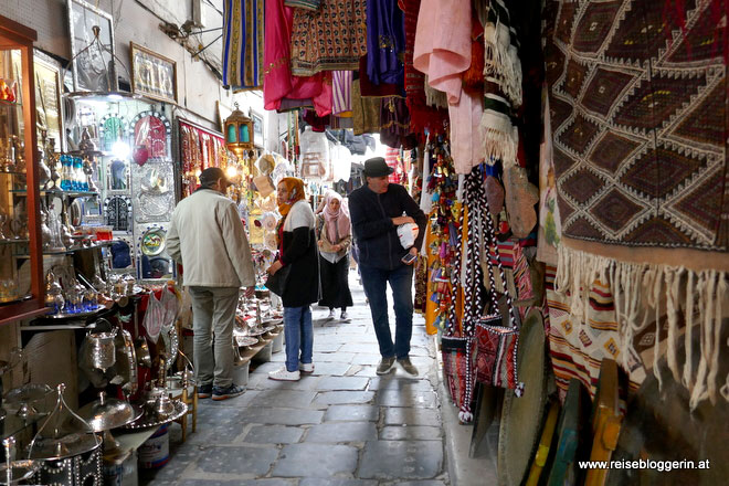 Der Souk in Tunis