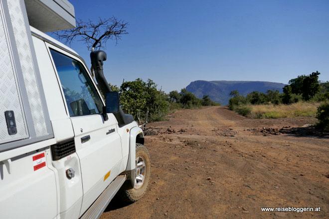 Mit dem Auto durch Südafrika