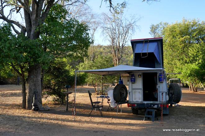 Campingplatz im Kruger Nationalpark