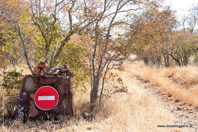Einfahrt verboten!