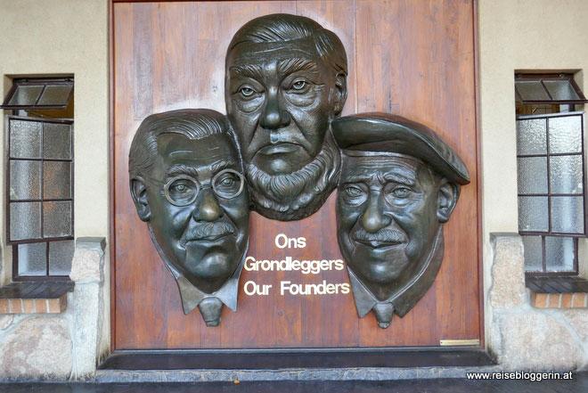 Die Gründer des Nationalparks