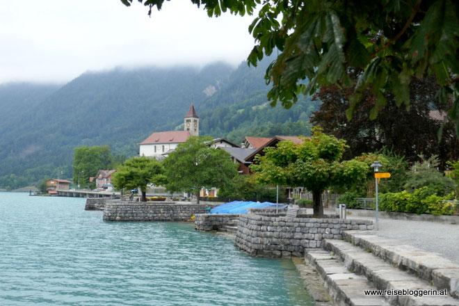 Die Kirche in Brienz im Berner Oblerand