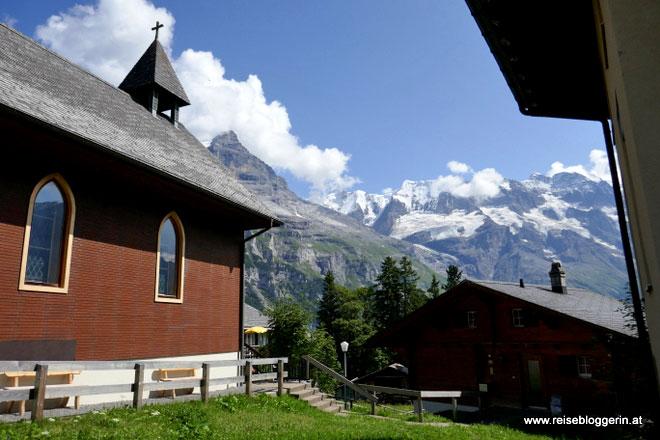 Kirche in Mürren