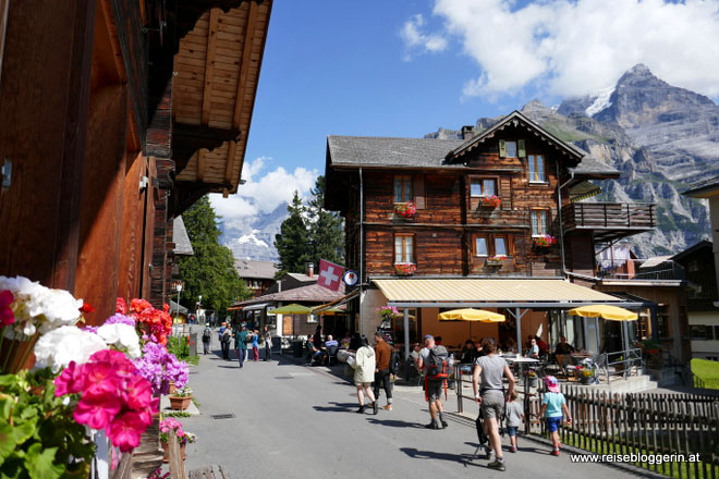 Mürren in der Schweiz