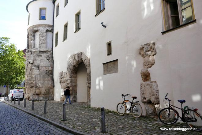 Porta Praetoria in Regensburg