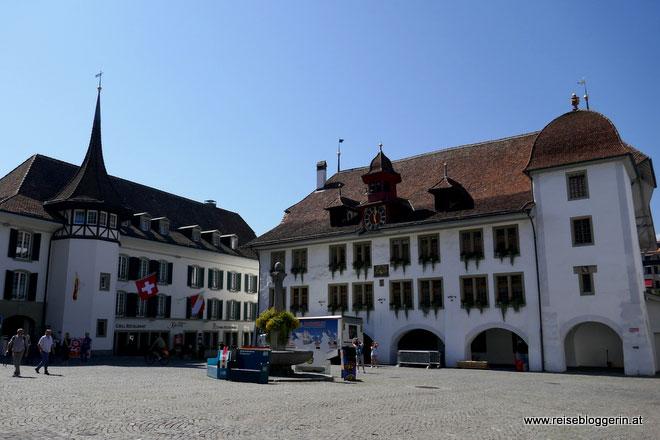 Rathausplatz in Thun