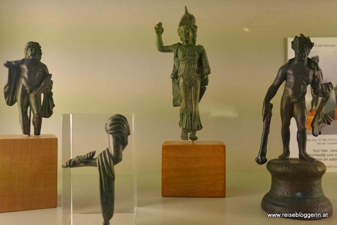 Römische Funde im Schlossmuseum Linz