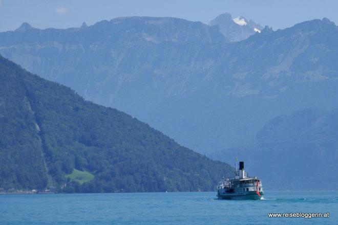 Schifffahrt am Thunersee