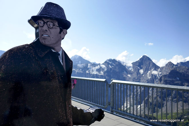 James Bond am Schilthorn