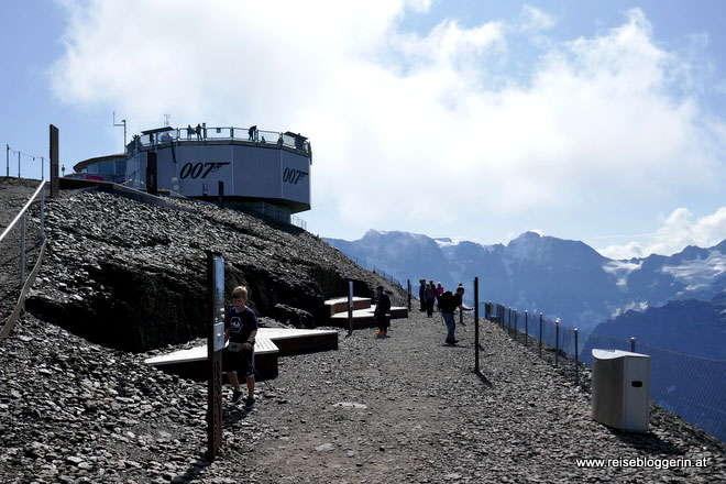 Der Walk of Fame am Schilthorn