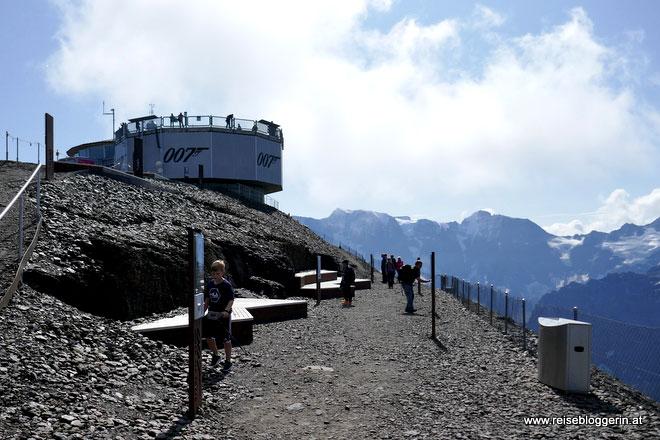 Der Walk of Fame am Schilthorn