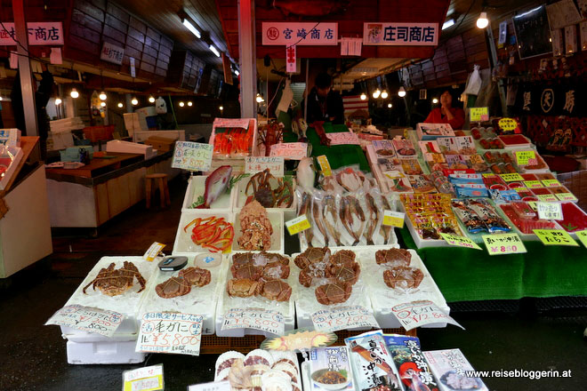 Fischmarkt in Hakodate
