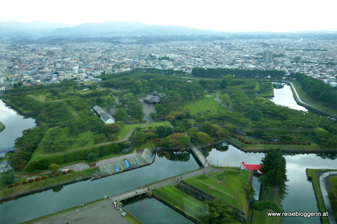 das Fort Goryokaku