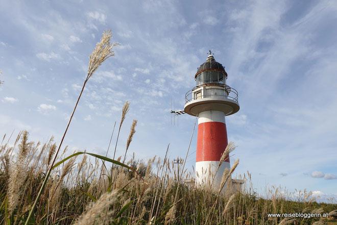 Der Leuchtturm auf der Shakotan Halbinsel