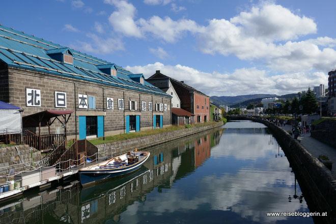 Otaru auf Hokkaido in Japan