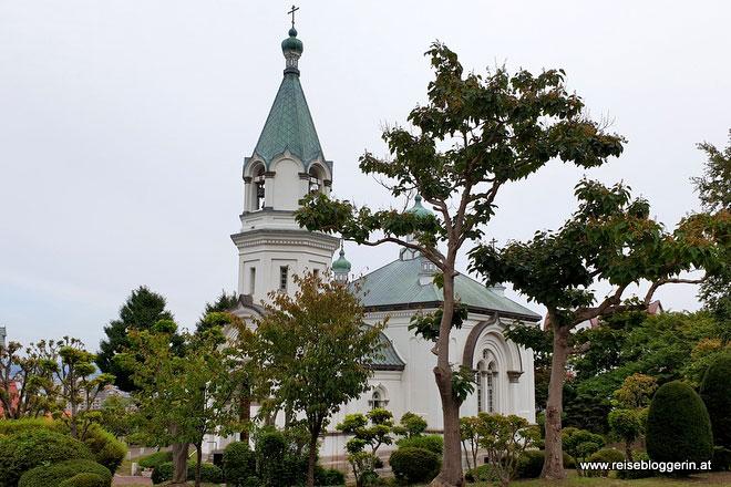 Die russisch-orthodoxe Kirche in Hakodate