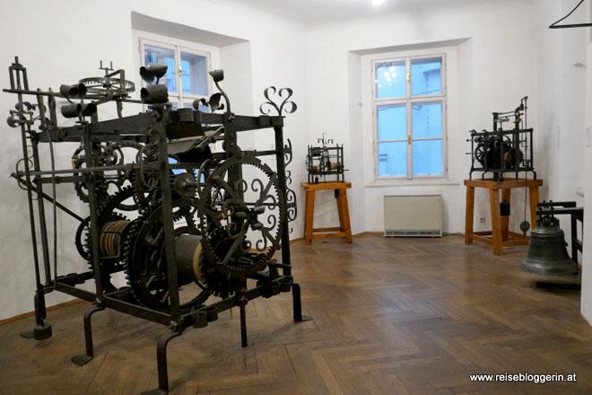 Turmuhren im Uhrenmuseum