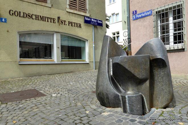Kunst im Öffentlichen Raum in Zürich