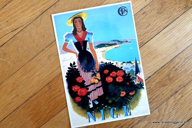 Postkarte aus Nizza