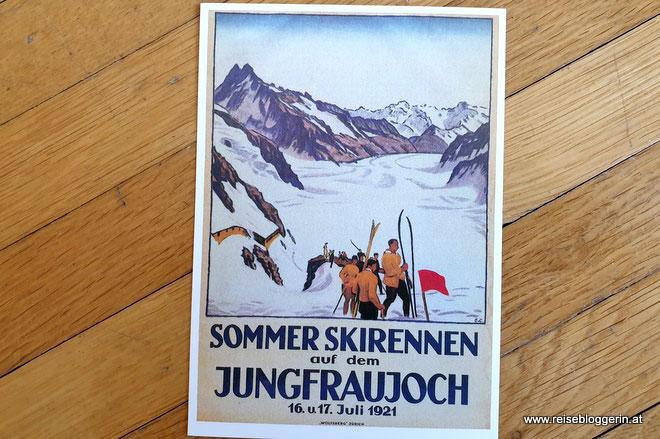 Postkarte aus der Schweiz