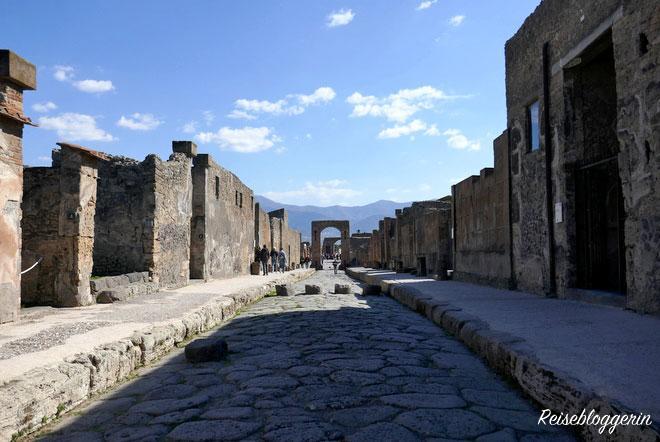 Ausgrabungen in Pompeji