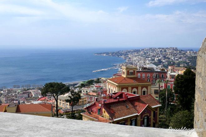 Aussicht auf Neapel vom Castel Sant'Elmo