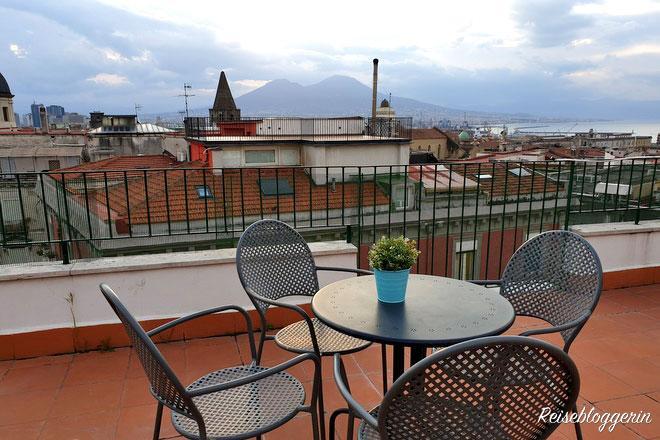Dachterrasse der Mansarda Bellini