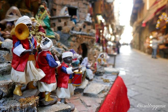 Via San Gregorio Armenio - Die Gasse der Krippenbauer