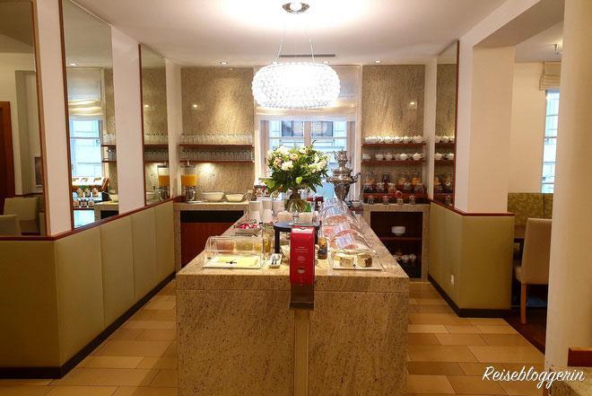 Frühstücksbuffet im Hotel Tigra