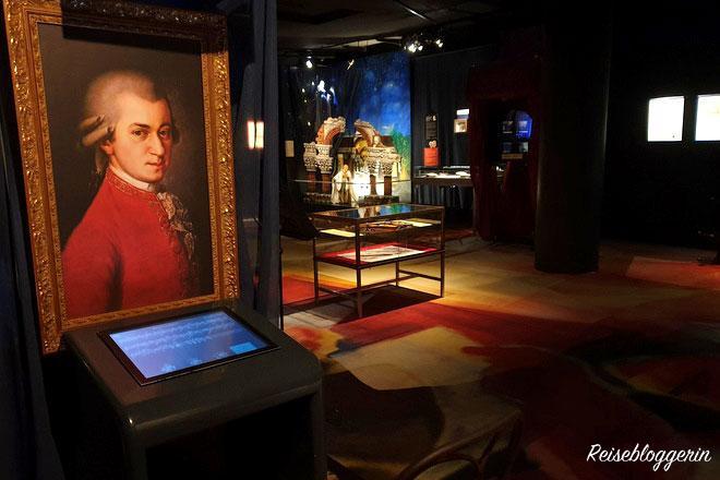 Gemälde von Mozart