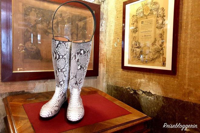 Handgemachte Schuhe in der Schuhmachermanufaktur Scheer