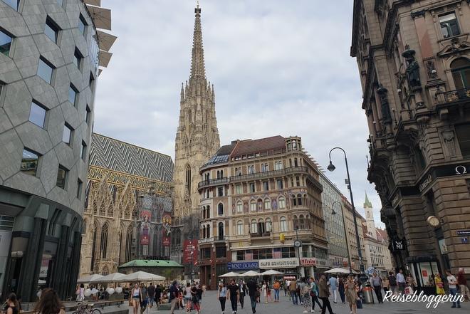 Die gotische Pfarrkirche St.Stephan in Wien